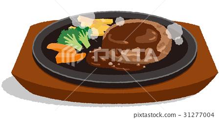 Hamburger steak 31277004
