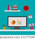 workplace illustration 31277596