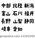 character, characters, letter 31281040