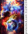 mandala goddess space 31285154