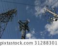 傳輸塔和電線桿 31288301