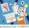 Human resources management concept 31288935