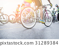 Asia cyclist road bike ridding on the road  31289384