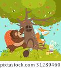 vector, animals, bear 31289460