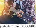 吉他 吉他弹奏者 吉他手 31291008