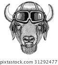 Buffalo drawing helmet 31292477