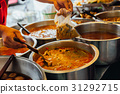Street food stall in Bangkok, Thailand 31292715