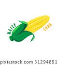 Logo Icon Design Maize Corn Farm 31294891