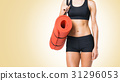 Fit, healthy and sporty woman in sportswear 31296053