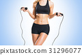 Fit, healthy and sporty woman in sportswear 31296077