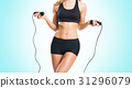 Fit, healthy and sporty woman in sportswear 31296079