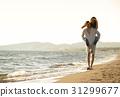 girl, carrying, guy 31299677