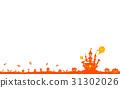 萬聖節 矢量 城堡 31302026