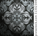 vector seamless royal 31302309