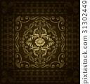 vector seamless royal 31302449