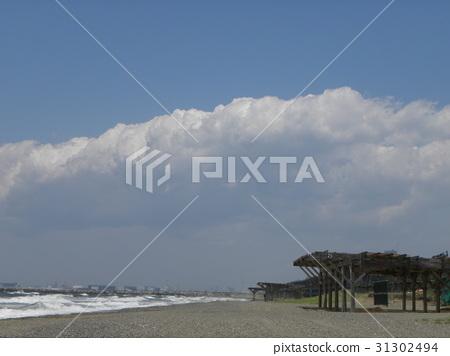 ท้องฟ้าเป็นสีฟ้า,มหาสมุทร,คลื่น 31302494