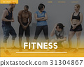 Wellbeing Fitness Healthy Lifestyle Icon 31304867