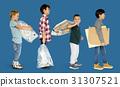 garbage, group, kid 31307521