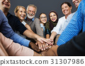 cooperation, hands, people 31307986