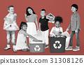 garbage, group, kid 31308126