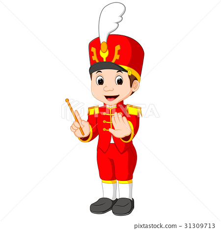 boy marching band 31309713