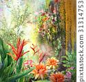 ดอกไม้,มีสีสัน,สีสัน 31314753