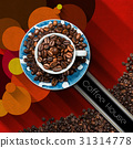 coffee, house, cup 31314778