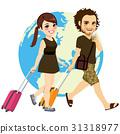 Couple Traveling 31318977