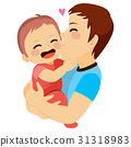 Dad And Baby 31318983