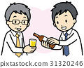 boss, subordinate, drinking party 31320246