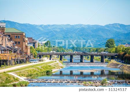 Kamogawa scenery of early summer 31324537