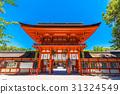 京都 下鴨神社(聖祠) 藍天 31324549