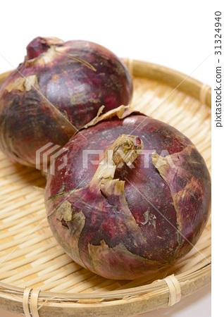 Delicious purple onions 31324940
