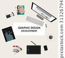 desk, design, computer 31326794