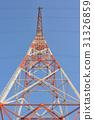 High voltage post 31326859