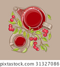 cherry illustration vector 31327086