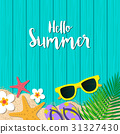 summer, hello, background 31327430