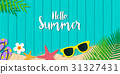 summer, hello, background 31327431
