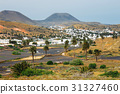 Volcanic landscape of Lanzarote, Canary, Spain 31327460