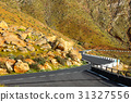 Road in the mountains of Betancuria, Fuerteventura 31327556
