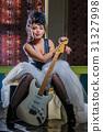 female, guitar, woman 31327998