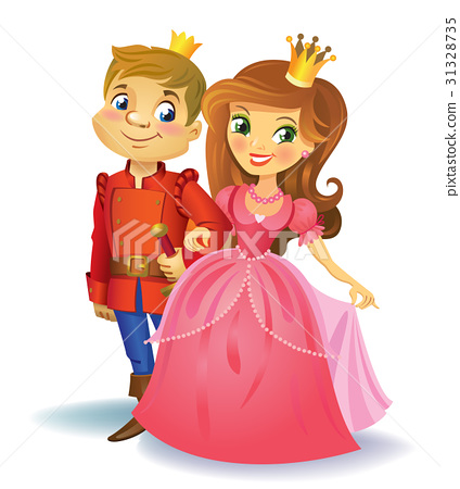 Beautiful princess and prince 31328735