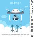 drone, camera, vector 31329799