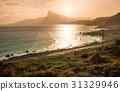 Sunset at Bai nhat beach, Condao island - Vietnam. 31329946