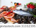 raw marine products and seasonings 31332395