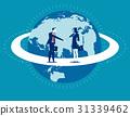 Global business. Businessperson greet. 31339462