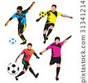 soccer  player 31341214