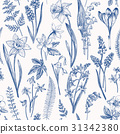 Seamless floral pattern. 31342380