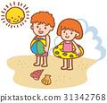 沙灘 努力獲取 享受自我 31342768