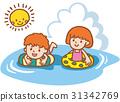 在海裡游泳 31342769
